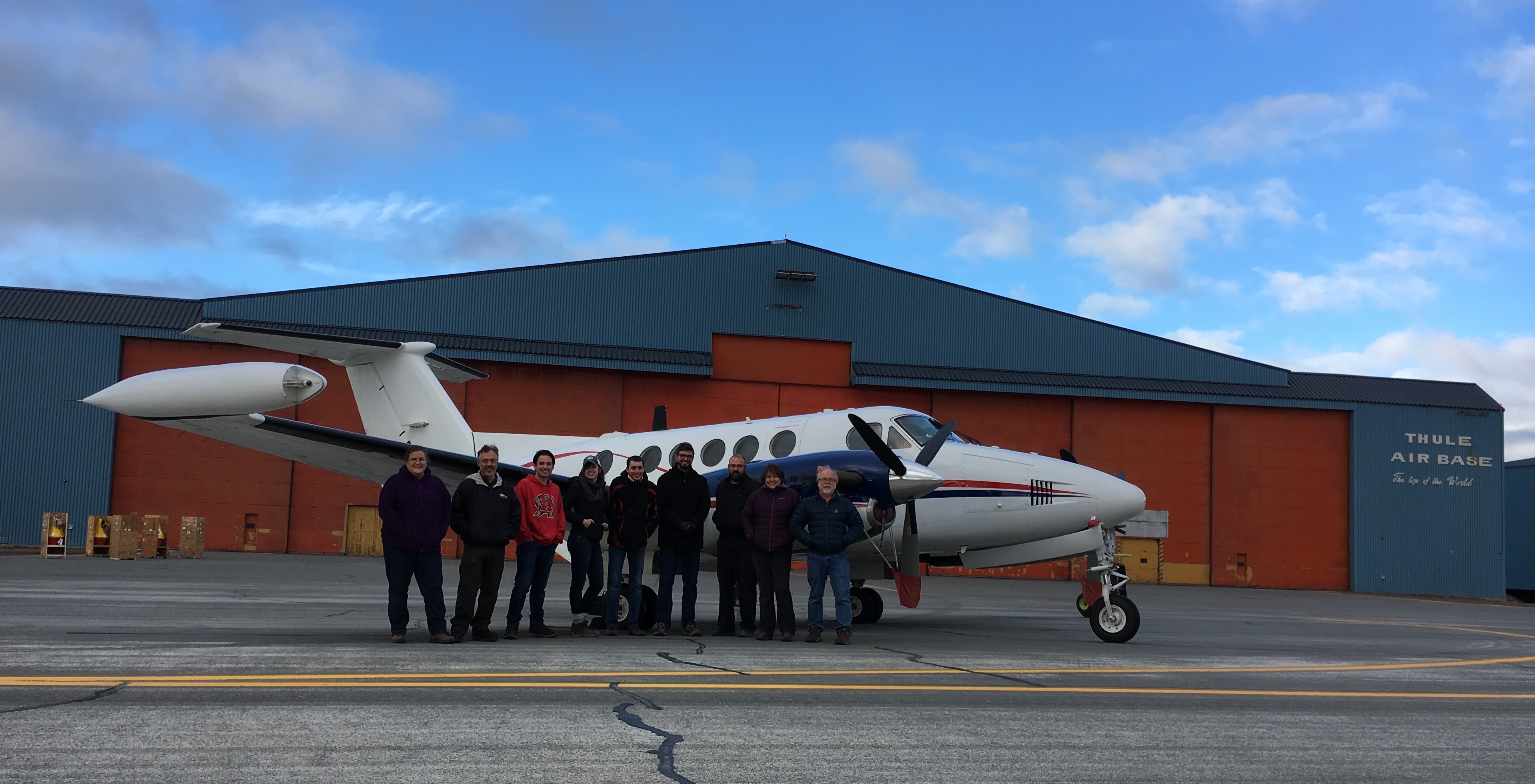 LVIS Team in Thule, Greenland
