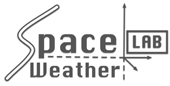 Logo for Space Weather Lab. at GSFC/NASA.