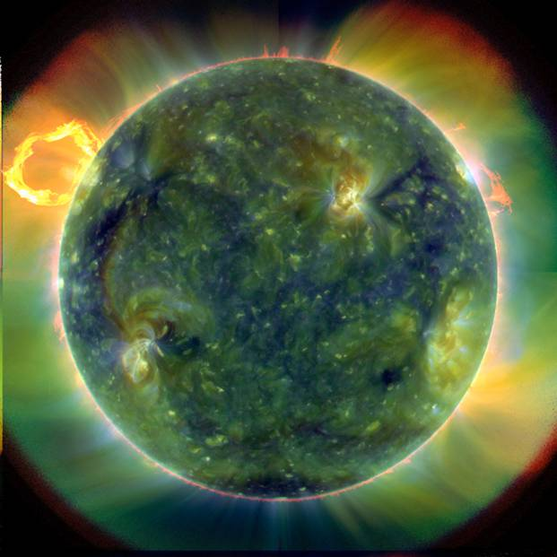 Image from Stereo during CME.
