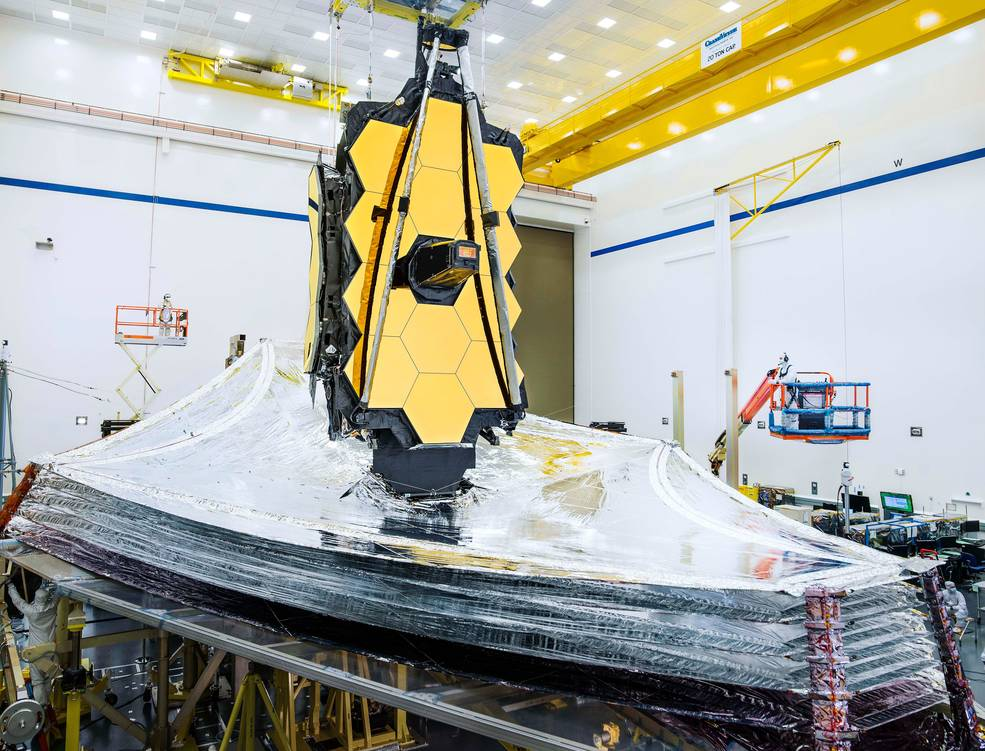 NASA's James Webb Space Telescope Clears Critical Sunshield Deployment Testing