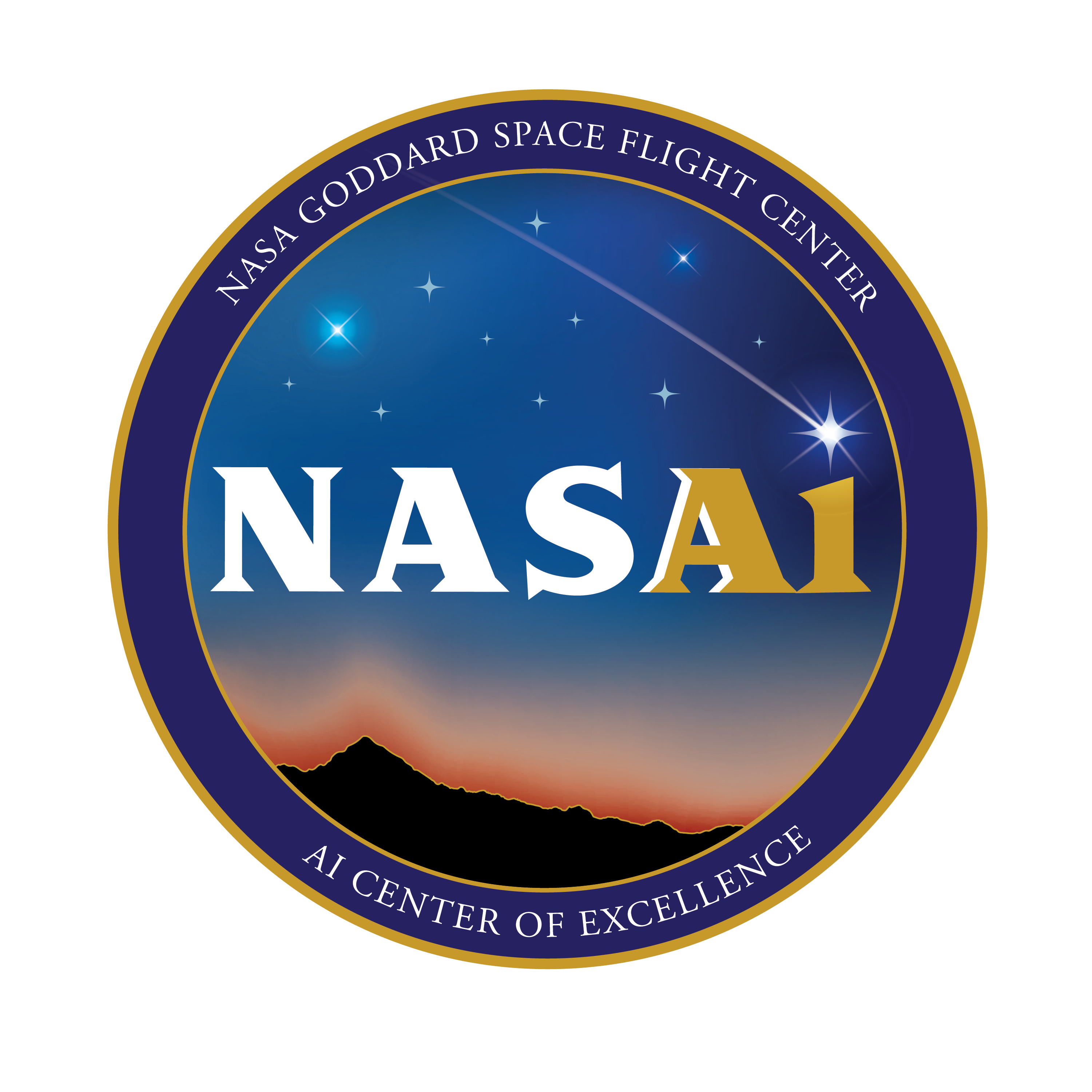 NASA AI Center of Excellence logo