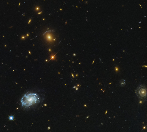 Hubble Finds a Monster in the Deep