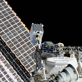 NASA's NICER Does the Space Station Twist