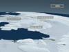 data visualization of antarctic ice shelfs
