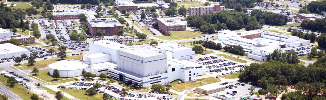 Photo of portion of Goddard Space Flight Center campus