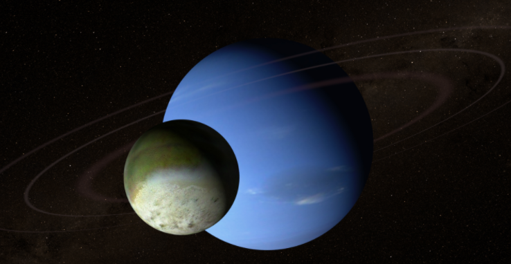 Screen shot from Neptune visualization