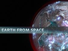 Thumbnail image of Earth visualization and Earth From Space banner