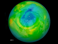 Thumbnail image of 2011 ozone hole