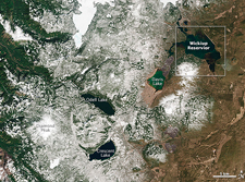 Thumbnail of LDCM image of Crater Lake