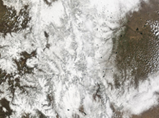 May Day snow satellite image