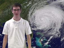 Still from winning video for hurricanes