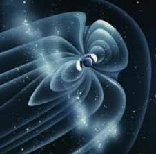 Artist concept of Earth's Magnetosphere