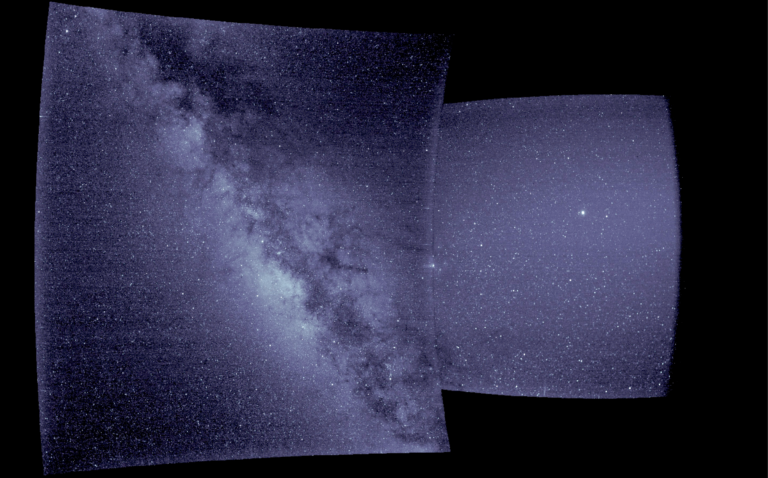 WISPR telescope's first light images