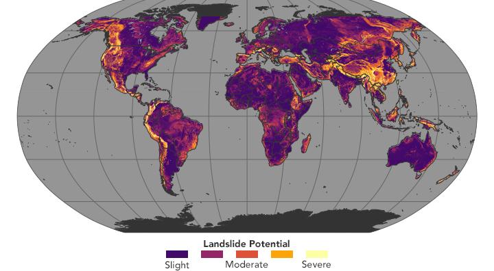Image result for landslide susceptibility