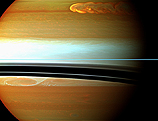 image of storm on saturn