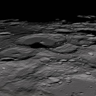 The Lunar Reconnaissance Orbiter captured these views of the Lunar South Pole.