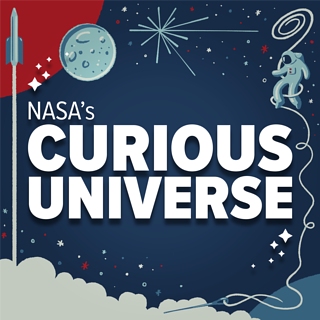 Logo grapic for NASA's Curious Universe