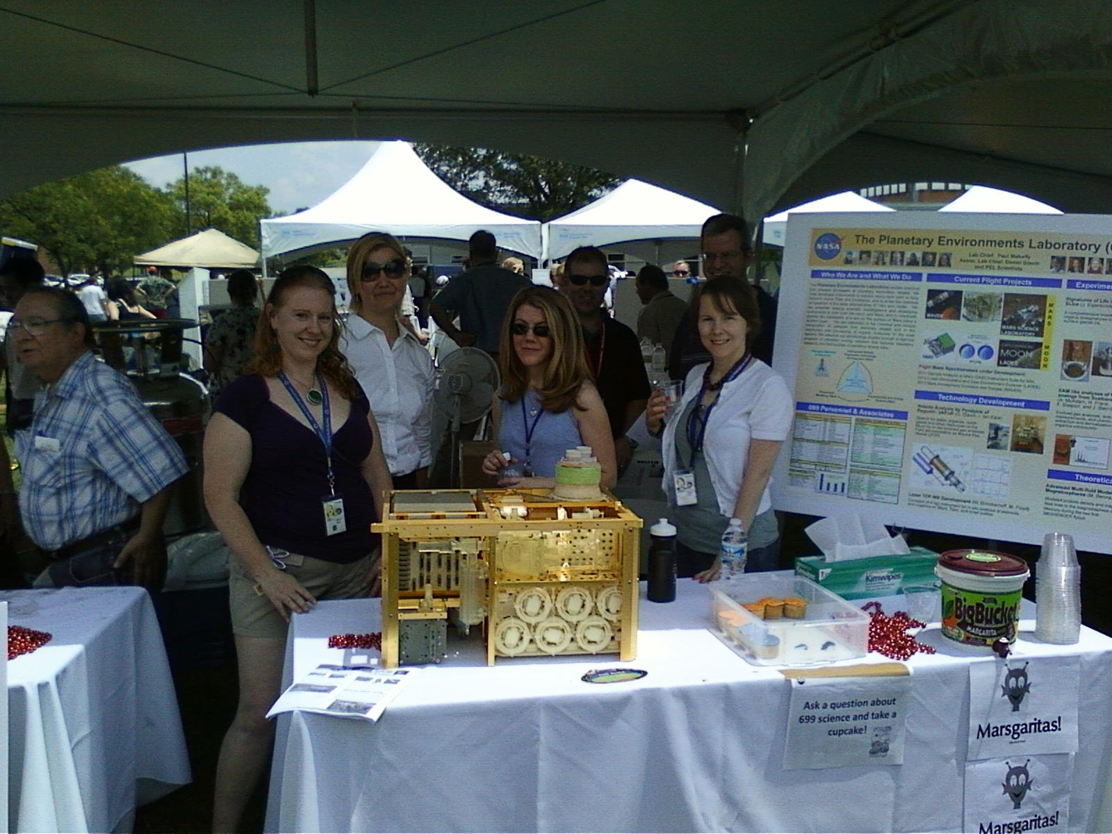 Members of the Group at Science Jamboree