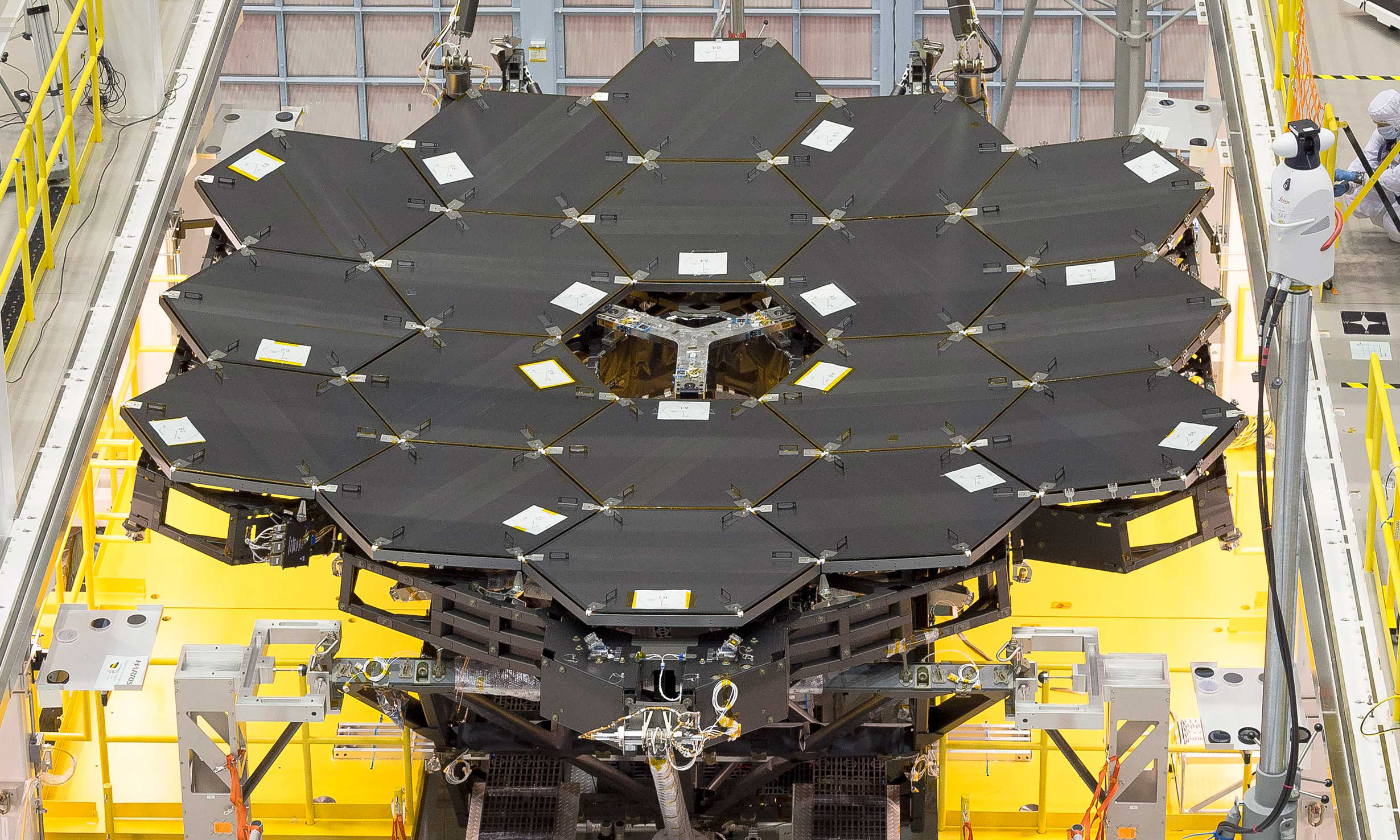 the mirror for NASA's James Webb Space Telescope