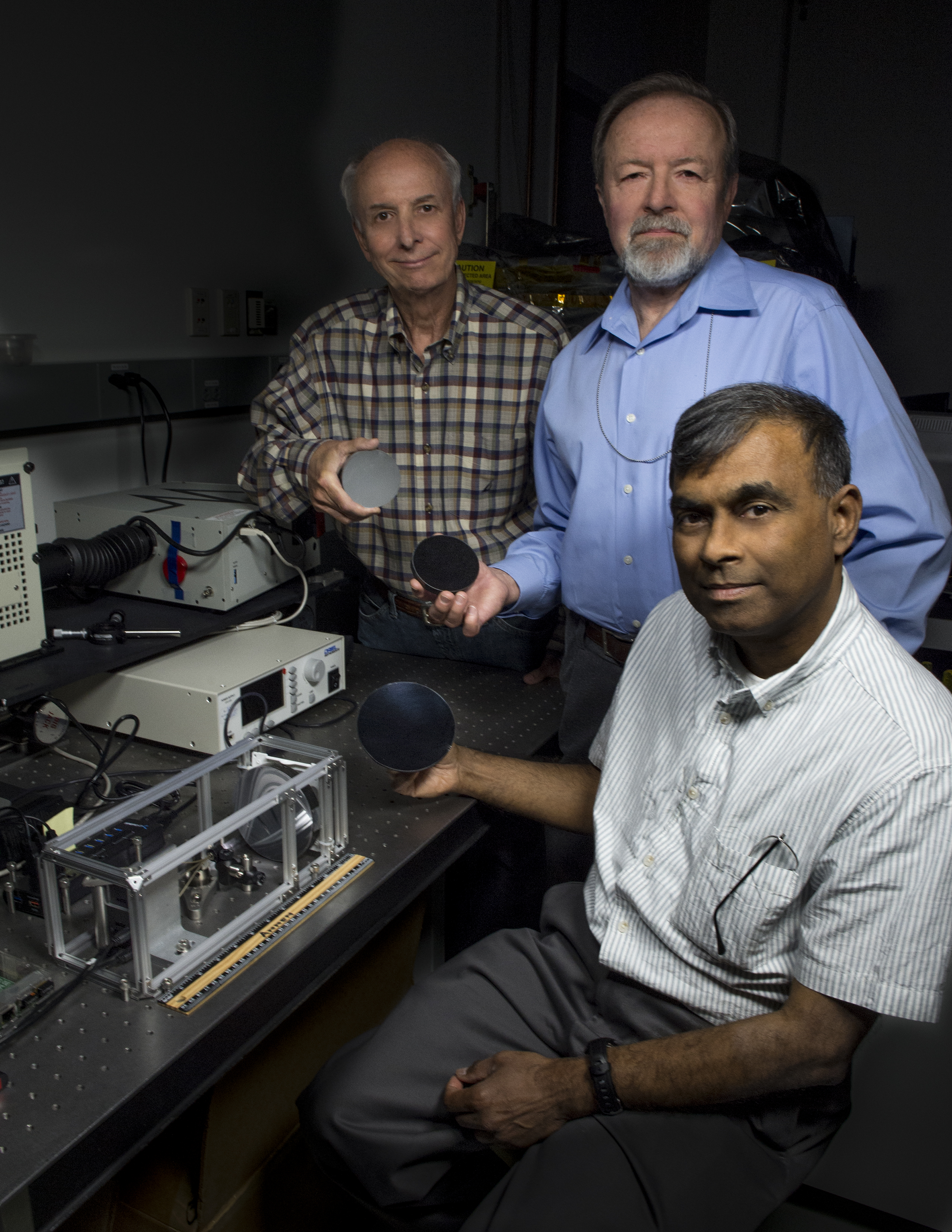 team members who developed the CubeSat technology