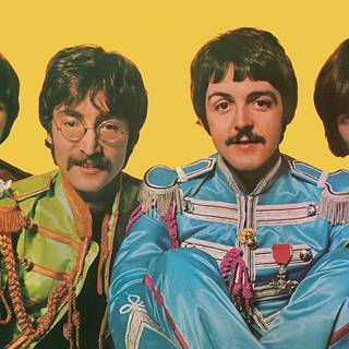 Photo from the 'Sgt. Pepper's Lonely Hearts Club Band' album.