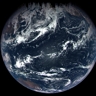 Color composite image of Earth was taken by the MapCam camera on NASA's OSIRIS-REx spacecraft