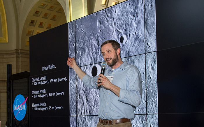 Jacob Bleacher, Research Geologist, Camps on Volcanoes to Train Astronauts