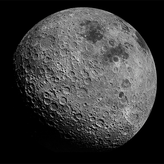 Photo of far side of the moon