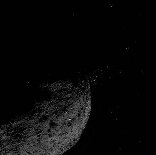 Image of asteroid Bennu